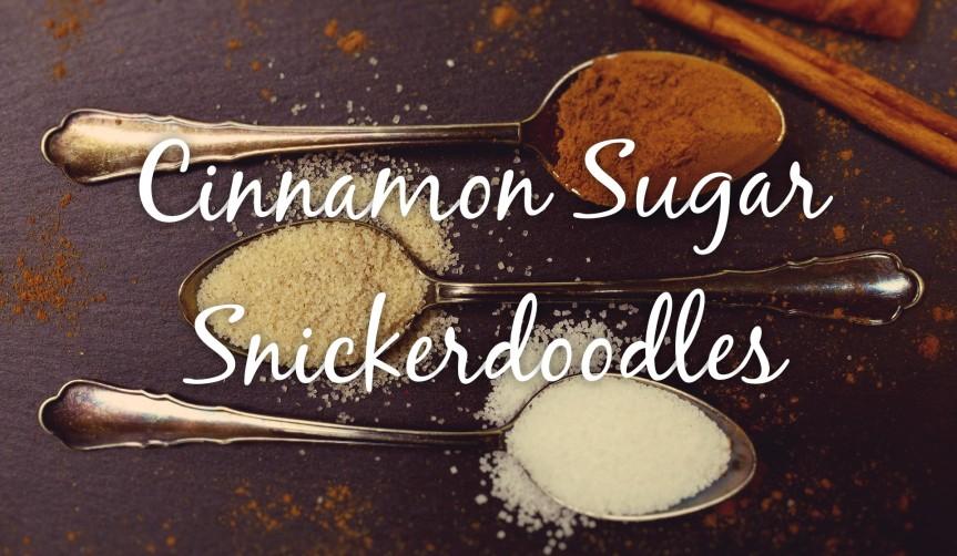 Soft Cinnamon SugarSnickerdoodles