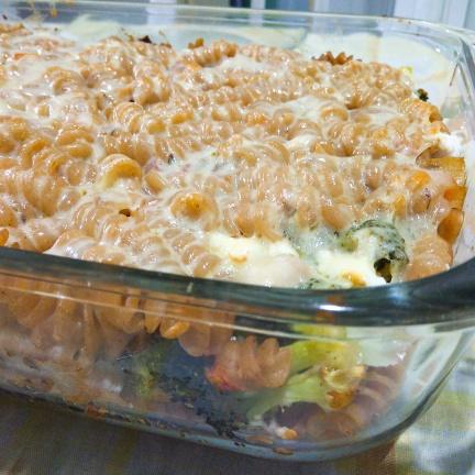 Chicken Broccoli Pastabake